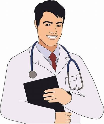 Doctor Cartoon Clinic Comic Checkup Boy Health