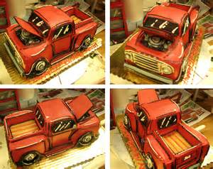 Ford Truck Birthday Cakes