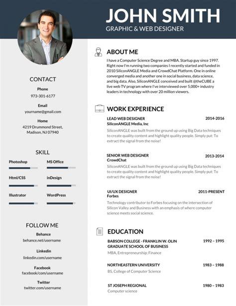 resume exles templates 10 best the best resume resume ideas