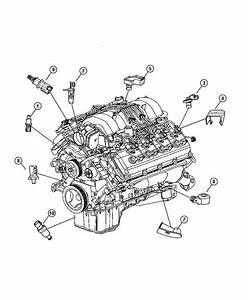 Dodge Charger Sending Unit  Oil Pressure  Adaptercooler  Drivetrain  Temperture