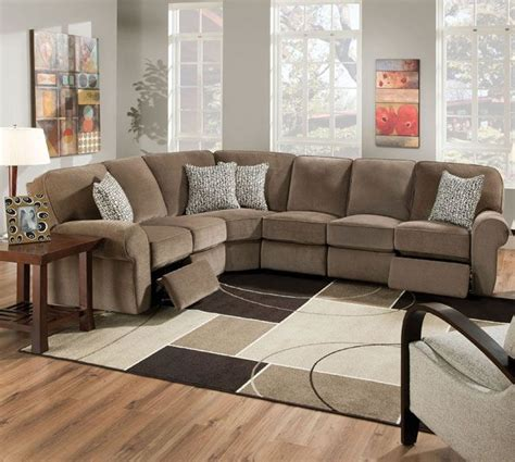 apartment size reclining sofa great sectional recliner couch 91 on sofa design ideas