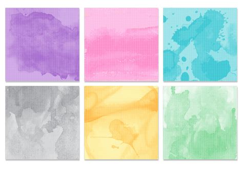 Watercolor Texture PSD Pack Free Photoshop Brushes at