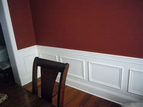 Painting Walls Two Colors As Split By A Chair Rail