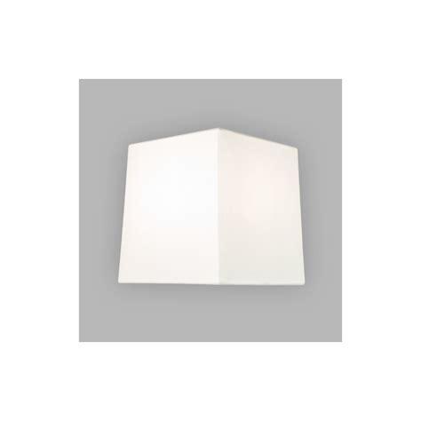 abat jour carre blanc abat jour lambro carr 233 blanc astro lighting