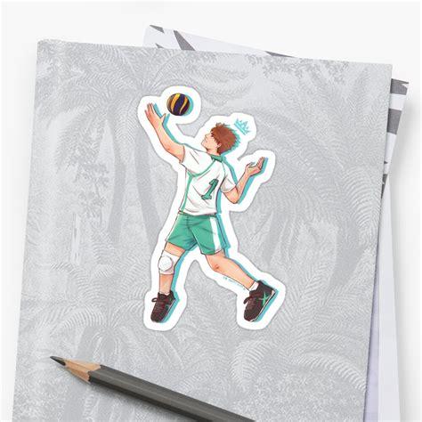 oikawa tooru sticker by xo