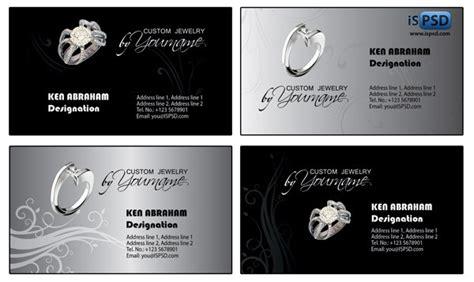 darkish black business card templates