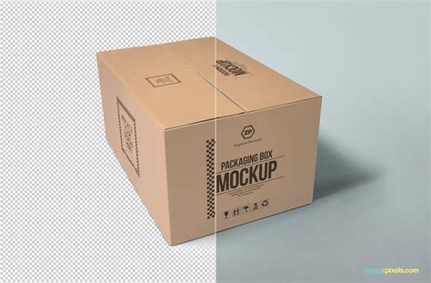 Free psd mockup to showcase your designs in modern way. Mockup caixa #4