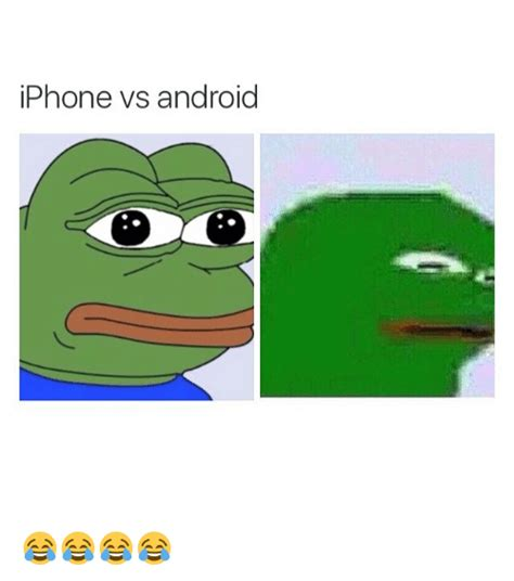 better for android iphone vs android android meme on sizzle