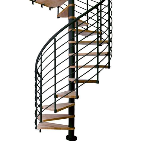dolle oslo 63 in 14 tread spiral staircase kit 67416 3
