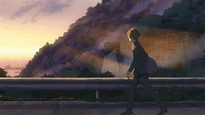 Aesthetic Scenery Anime Makoto Shinkai Gifs Wallpapers