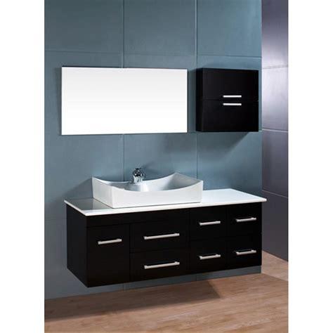 design element springfield  single sink vanity set