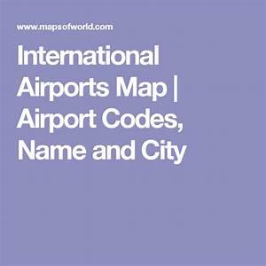 International Airports Map