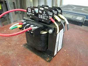 Square D Transformer 9070tf350d1 0 35 Kva 50  60hz Pri 240
