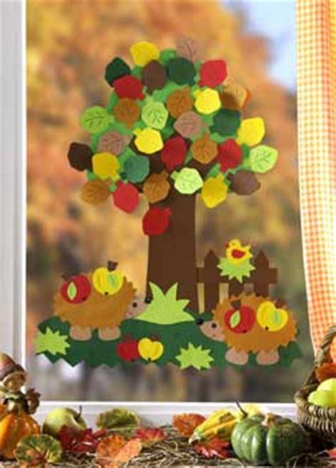 Herbst Baum Fenster by Jahreszeiten Barbaras Bastelwelt