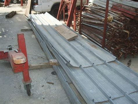 lamiere per tettoie tirrenia edilizia usato lamiere zincate usate varie