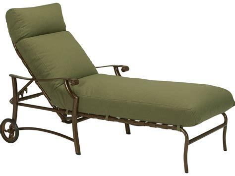 chaises aluminium tropitone montreaux ii relaxplus cushion aluminum chaise