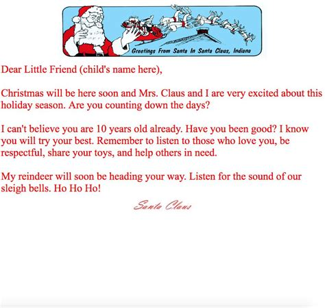 letter to child about santa new letter to child about santa cover letter exles 28277