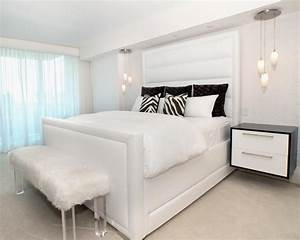 Clean White Bedroom Furniture Ideas