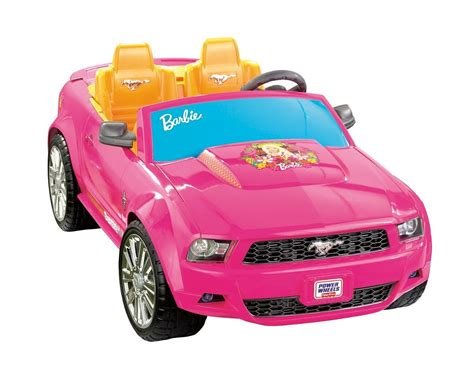 carro montable power wheels barbie ford mustang fisher pri