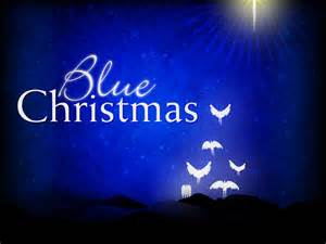 blue christmas here s the thing