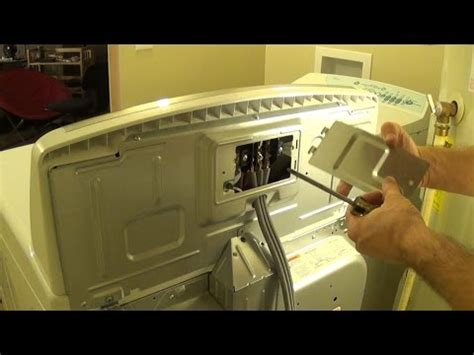 How Install Clothes Dryer Prong Plug Cord Youtube