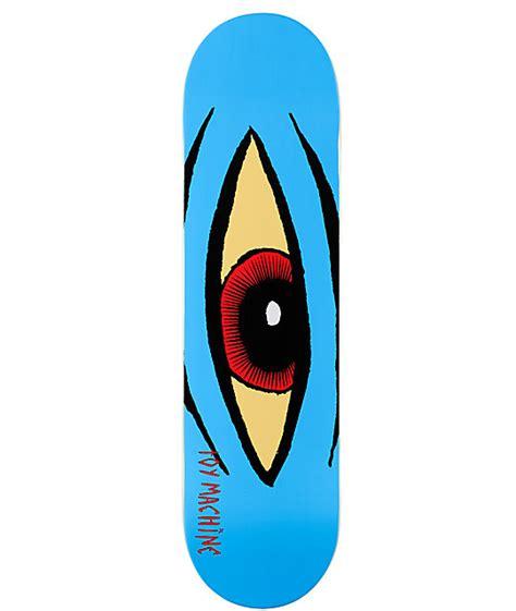 toy machine sect eye 8 25 quot skateboard deck