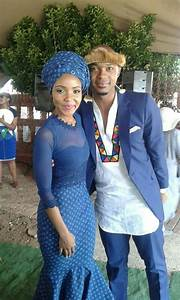 Tswana Traditional Wedding Attire For Couples 2017 Images