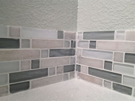 tile inside corners grout or caulk diy kitchen backsplash part 5 grouting backsplash tiles