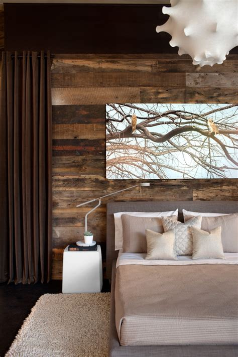 rustic modern bedrooms rustic chic 12 reclaimed wood bedroom decor ideas setting for four