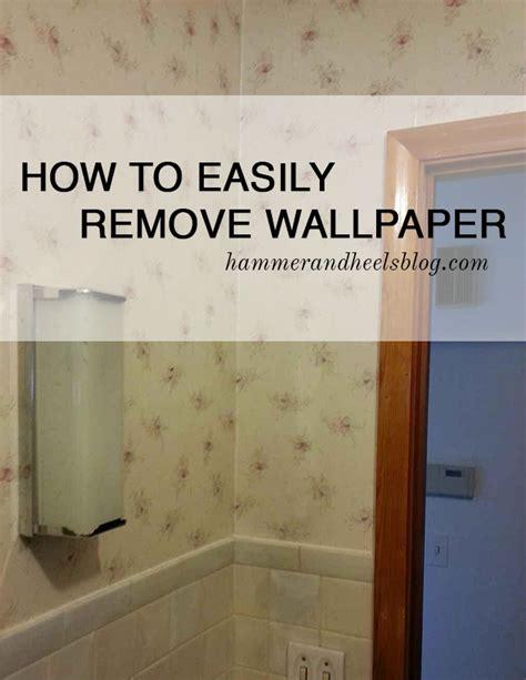 remove wallpaper  hammer  heels homeright