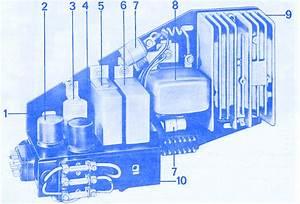 Porsche 911 1971 Relay Switch Fuse Box  Block Circuit