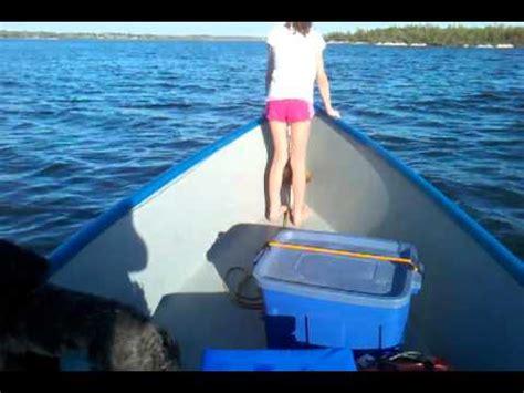 boswell plywood skiff  onondaga lake syracuse youtube