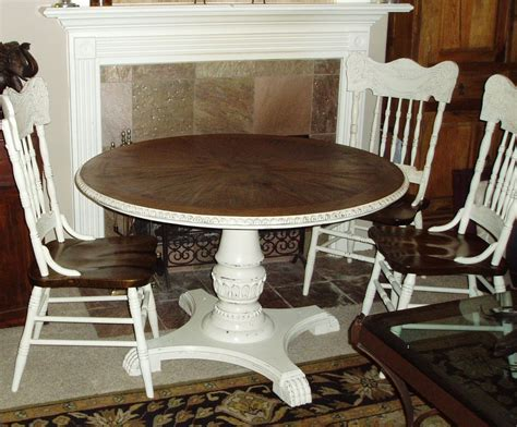 Faux Painting + Furniture French Country Table & Chairs