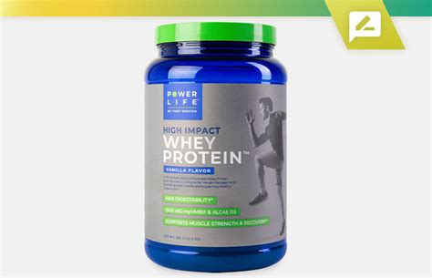 Power Life High Impact Whey Protein by Tony Horton