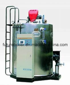 China German Style 1000kg  H Gas Or Oil Steam Generator