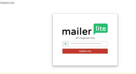 ws mailerlite screenshot