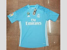 Camiseta de portero del Real Madrid 201617