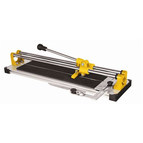qep tile saw 4 in qep 750mm promaster tile cutter bunnings warehouse