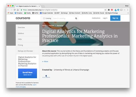 Marketing Analytics Course by 37 Free Social Media And Marketing Courses To Elevate Your