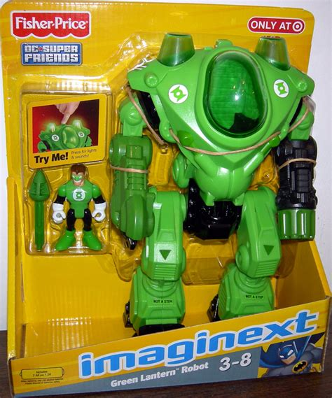 green lantern robot figure dc friends imaginext