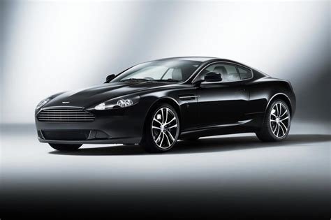 aston martin launches db morning frost carbon black