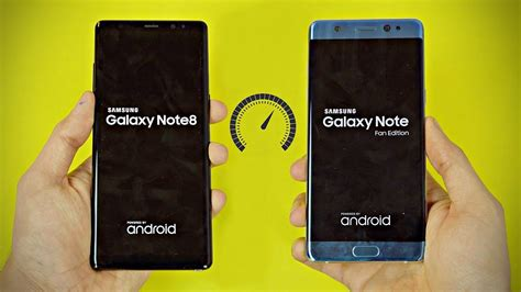 samsung galaxy note fe samsung galaxy note 8 vs note fe note 7 speed test
