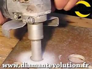 Percer Dans Du Carrelage : fraise diamant pour agrandir un trou dans un carrelage ou ~ Dailycaller-alerts.com Idées de Décoration