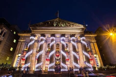 edinburgh christmas scotland dome around december markets destinations holidays celebrating night light