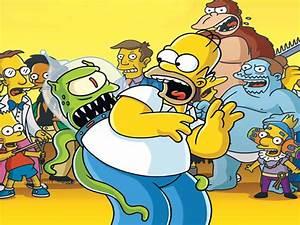 Top Cartoon Wallpapers: Homer Simpson Wallpaper