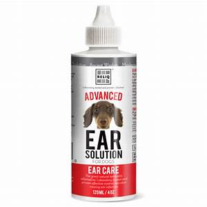 Advanced natural ear cleaning solution for dogs cats 4oz for Dog ear cleaning solution