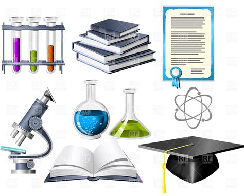 Science And Education Icons Vector Image #4758