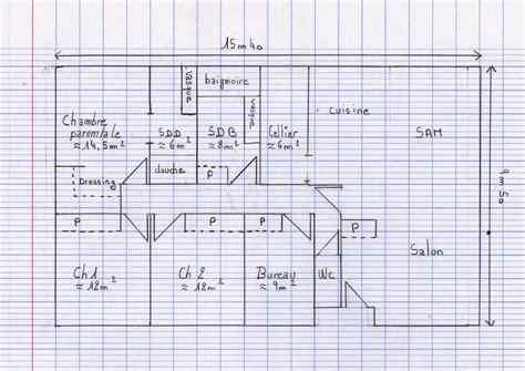 plan maison plain pied 100m2 3 chambres plan maison plain pied 3 chambres rectangulaire menuiserie