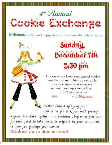 cookie exchange rules quotes for a cookie exchange quotesgram