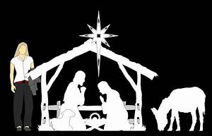 Plans to build Nativity Silhouette Patterns PDF Plans